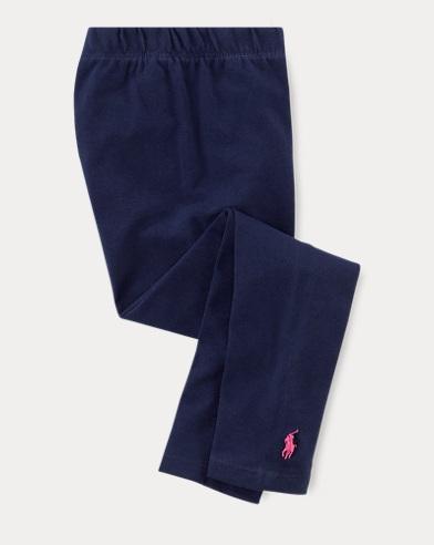 폴로 랄프로렌 여아용 레깅스 네이비 Polo Ralph Lauren Stretch Legging,Navy