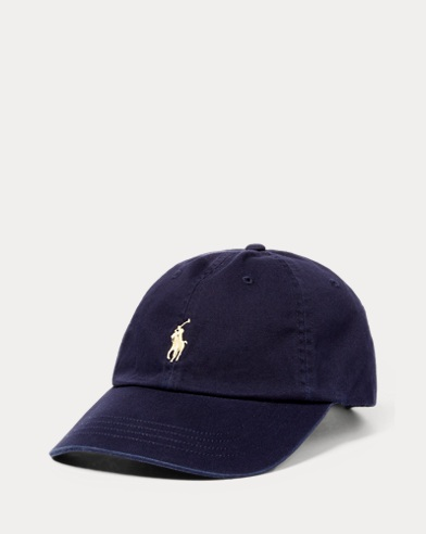 폴로 랄프로렌 Polo Ralph Lauren Cotton Chino Baseball Cap,Navy