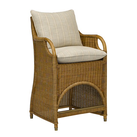 Jamaica Wicker Counter Stool   Dining Chairs   Furniture   Products   Ralph  Lauren Home   RalphLaurenHome.com
