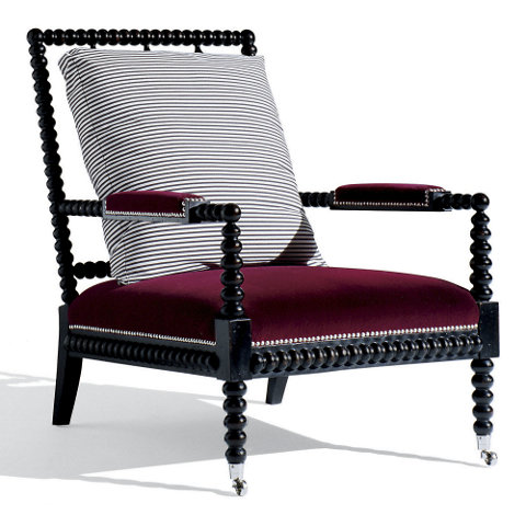 New Bohemian Spindle Chair Chairs Ottomans Furniture Products Ralph Lauren Home Ralphlaurenhome