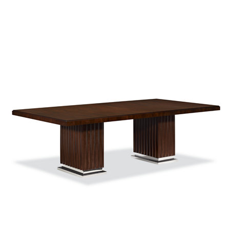 Duke Pedestal Dining Table Rosewood Tables Furniture Products Ralph Lauren Home Ralphlaurenhome