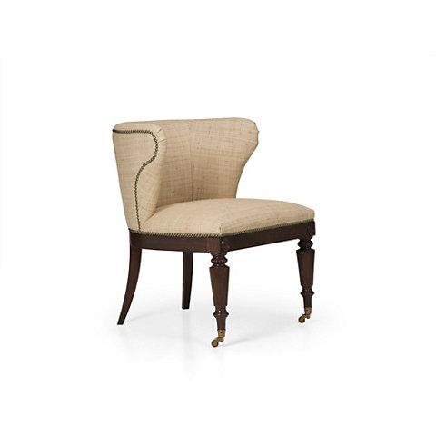 Great Baynard Conversation Chair   Chairs / Ottomans   Furniture   Products    Ralph Lauren Home   RalphLaurenHome.com
