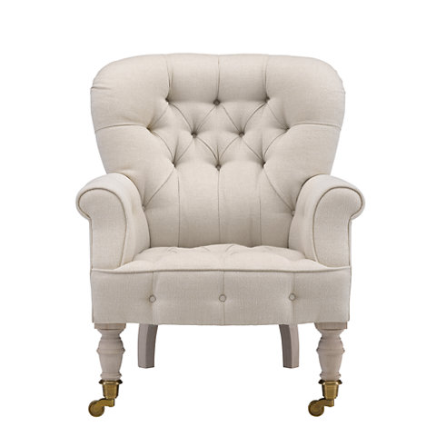 Beau Vesey Tufted Club Chair