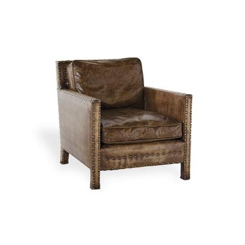 Incredible Nailhead Club Chair Chairs Ottomans Furniture Alphanode Cool Chair Designs And Ideas Alphanodeonline