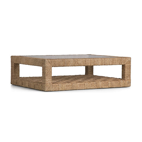 Bartlett Woven Cocktail Table   Cocktail Tables   Furniture   Products    Ralph Lauren Home   RalphLaurenHome.com