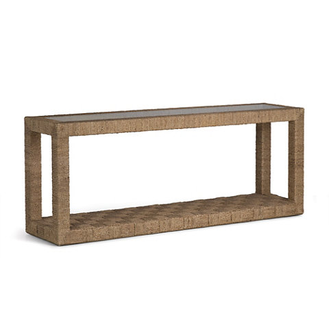 Bartlett Woven Console   Servers / Consoles   Furniture   Products   Ralph  Lauren Home   RalphLaurenHome.com