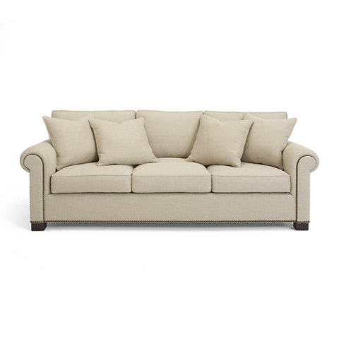 Jamaica Salon Sofa   Sofas / Loveseats   Furniture   Products   Ralph Lauren  Home   RalphLaurenHome.com