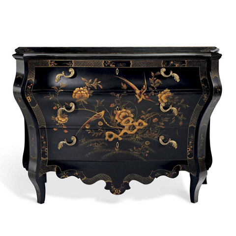 Superieur Heiress Painted Bombé Chest   Chests / Mirrors   Furniture   Products    Ralph Lauren Home   RalphLaurenHome.com
