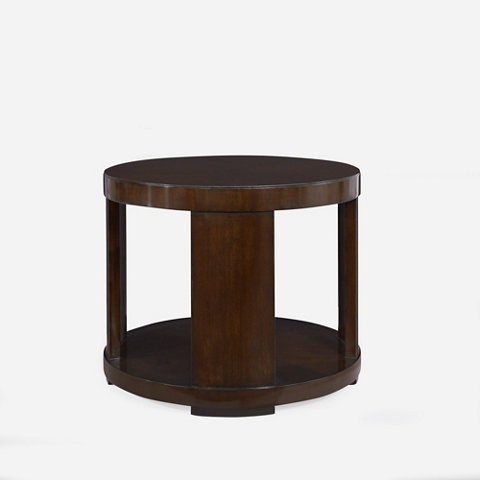Modern Drum End Table Occasional Tables Furniture Products Ralph Lauren Home Ralphlaurenhome