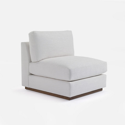 Desert Modern Sectional Slipper Chair