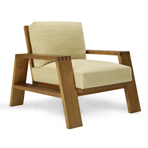 Desert Modern Wood Club Chair - Chairs / Ottomans - Furniture - Products - Ralph  Lauren Home - RalphLaurenHome.com - Desert Modern Wood Club Chair - Chairs / Ottomans - Furniture