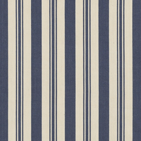 Arbaud Ticking - Navy - Blue & White - Fabric - Products - Ralph ...