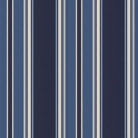 Eastcliff Stripe - Navy - Blue & White - Fabric - Products - Ralph ...
