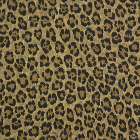 Caledonia Leopard Linen Bamboo Fabric Products