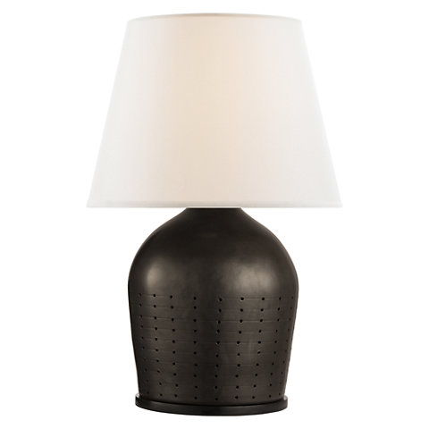 Good Halifax Large Table Lamp In Black Ceramic With White Paper Shade   Table  Lamps   Lighting   Products   Ralph Lauren Home   RalphLaurenHome.com