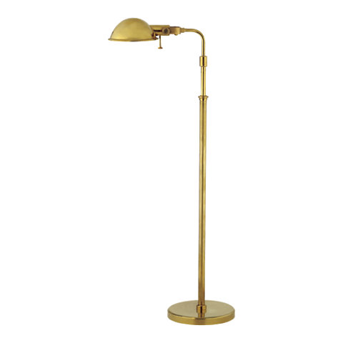Fairfield pharmacy floor lamp in natural brass floor lamps fairfield pharmacy floor lamp in natural brass floor lamps lighting products ralph lauren home ralphlaurenhome aloadofball Images