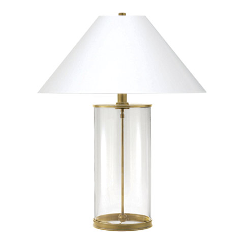 Modern Table Lamp In Natural Brass   Table Lamps   Lighting   Products   Ralph  Lauren Home   RalphLaurenHome.com