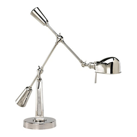 Rl 67 boom arm table lamp in polished nickel table lamps rl 67 boom arm table lamp in polished nickel table lamps lighting products ralph lauren home ralphlaurenhome aloadofball Images