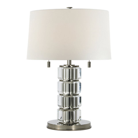 Brookings table lamp in polished nickel table lamps lighting brookings table lamp in polished nickel table lamps lighting products ralph lauren home ralphlaurenhome aloadofball Images