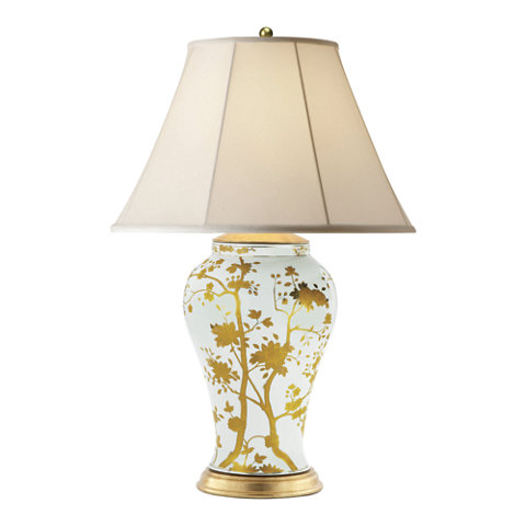 Gable Table Lamp In Gold   Table Lamps   Lighting   Products   Ralph Lauren  Home   RalphLaurenHome.com