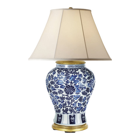 Marlena Small Lamp In Blue And White Table Lamps Lighting Products Ralph Lauren Home Ralphlaurenhome