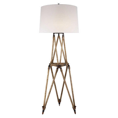 Quincy floor lamp in vintage oak floor lamps lighting products quincy floor lamp in vintage oak aloadofball Choice Image