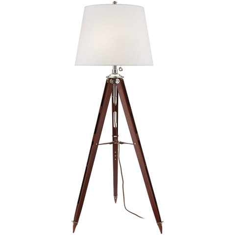 Bon Holden Surveyoru0027s Floor Lamp In Mahogany   Floor Lamps   Lighting    Products   Ralph Lauren Home   RalphLaurenHome.com