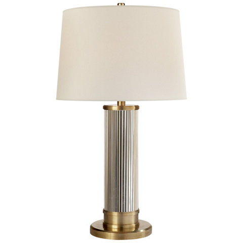 Allen table lamp in natural brass table lamps lighting allen table lamp in natural brass table lamps lighting products ralph lauren home ralphlaurenhome aloadofball Images