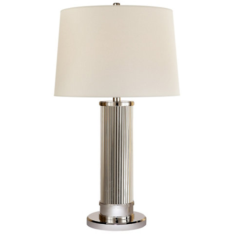 Allen table lamp in polished nickel table lamps lighting allen table lamp in polished nickel table lamps lighting products ralph lauren home ralphlaurenhome aloadofball Images