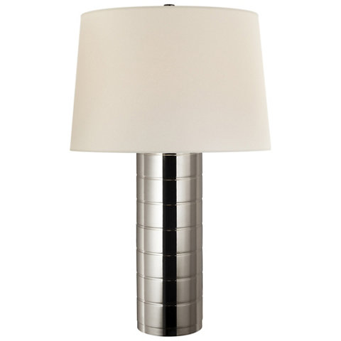 Montgomery table lamp in polished nickel table lamps lighting montgomery table lamp in polished nickel table lamps lighting products ralph lauren home ralphlaurenhome aloadofball