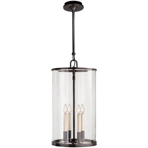Modern Large Lantern In Bronze Ceiling Fixtures Lighting