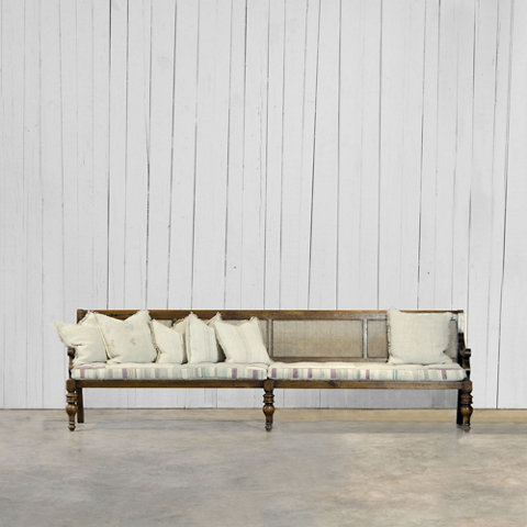 Cane Back Settee