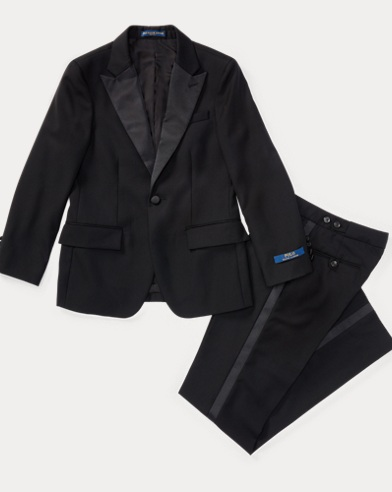 Wool Barathea Tuxedo
