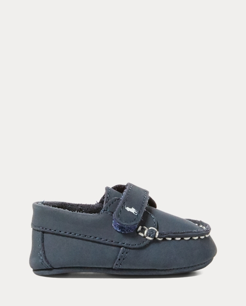 68f372c54 Baby Boy Captain Leather EZ Loafer 1