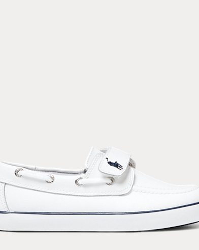 Sander Faux-Leather Boat Shoe