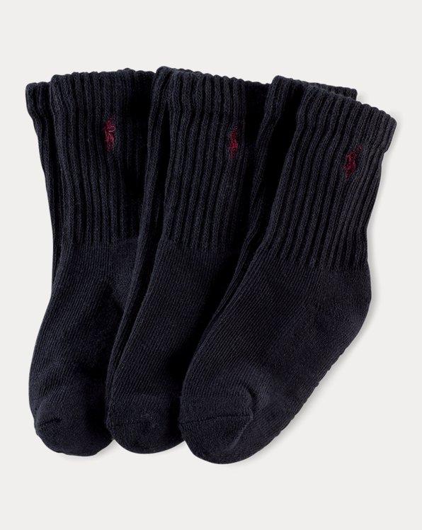 Cushioned Crew Sock 3-Pack