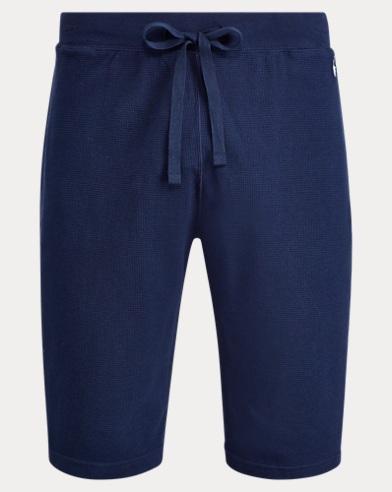 Waffle-Knit Pajama Short