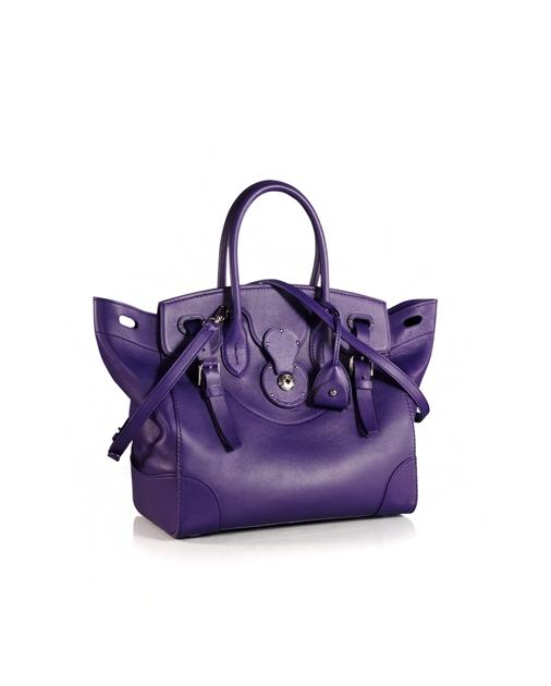 89a57051d6f5 produt-image-2.0. produt-image-3.0. produt-image-4.0. WOMEN ACCESSORIES Bags  Deep Purple Nappa Soft Ricky. Ralph Lauren
