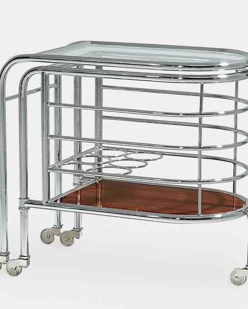 Modern Metropolis Bar Trolley | Bar Accessories Glware & Bar ... on