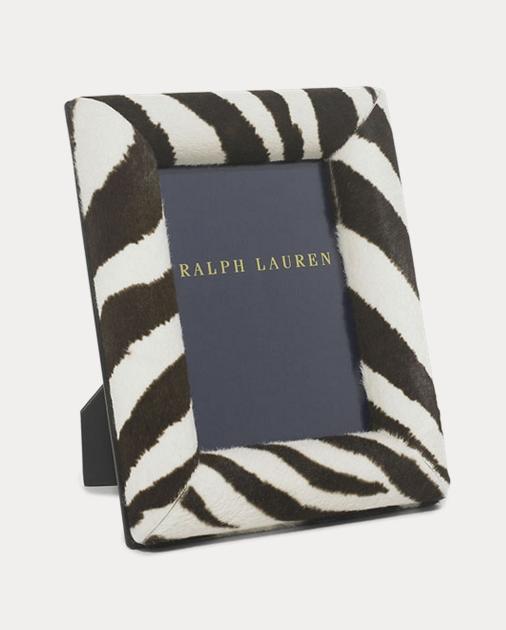 Chatwin Zebra Frame | Frames & Desk Accessories Home | Ralph Lauren