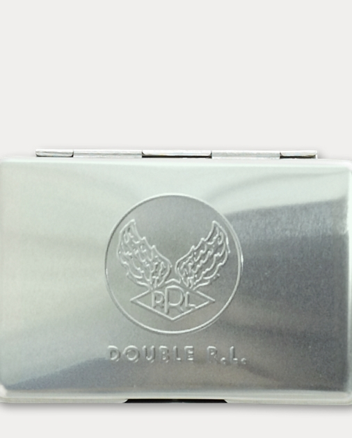 Metal Card Case Wallets Money Clips Bags Leather Goods Ralph