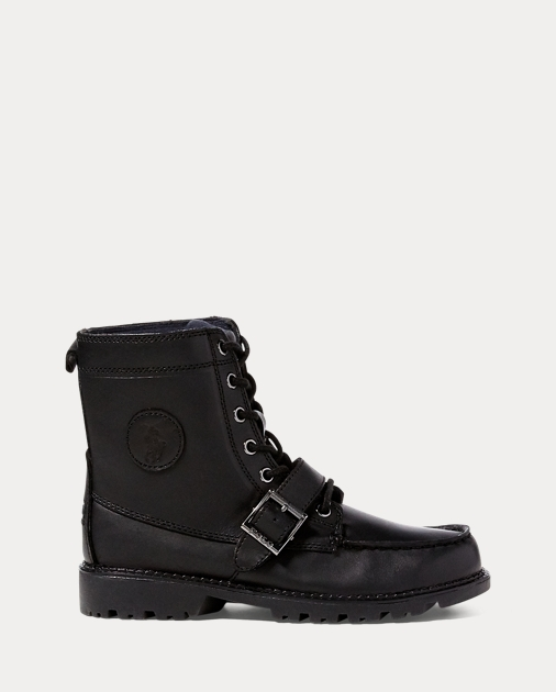 b1d6c8fe957 Leather Ranger Hi II Boot - Boots Big Kid (sizes 3.5-7) | Ralph Lauren