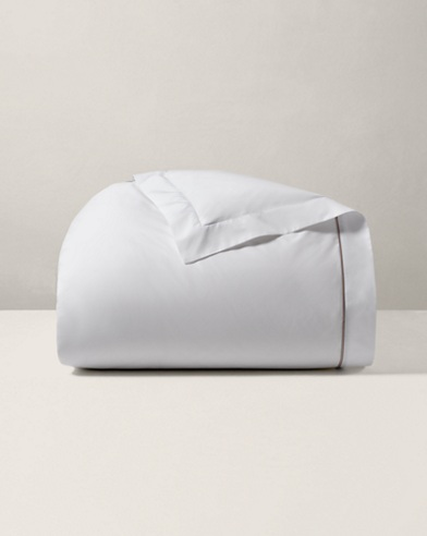 Charcoal Palmer Duvet Cover
