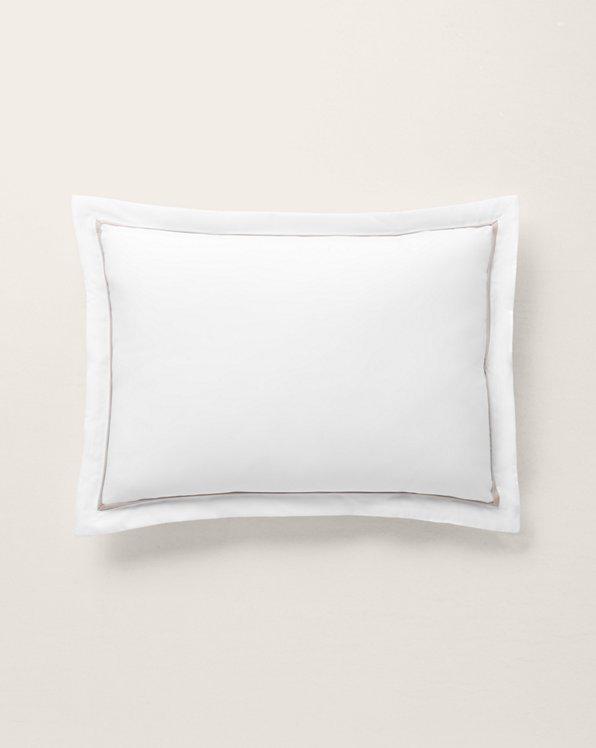 Palmer Percale Throw Pillow