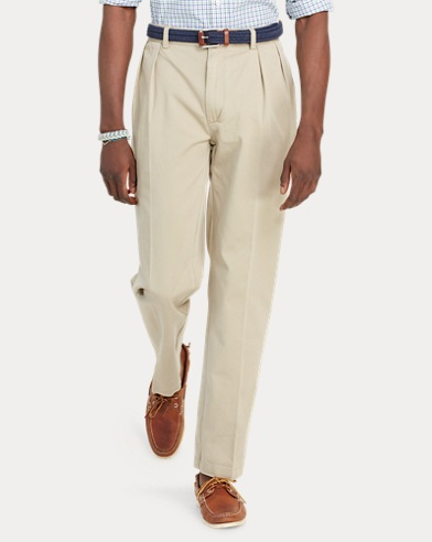 Classic Fit Pleated Pant