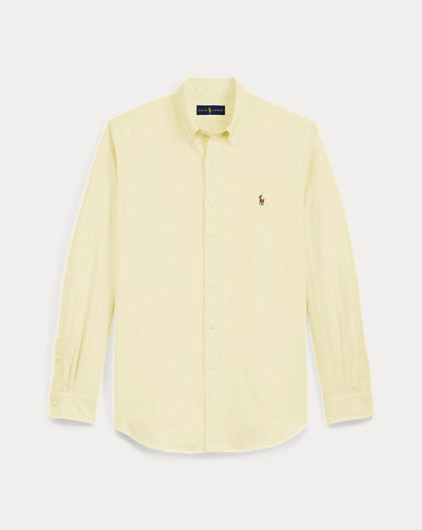 L'iconica camicia Oxford
