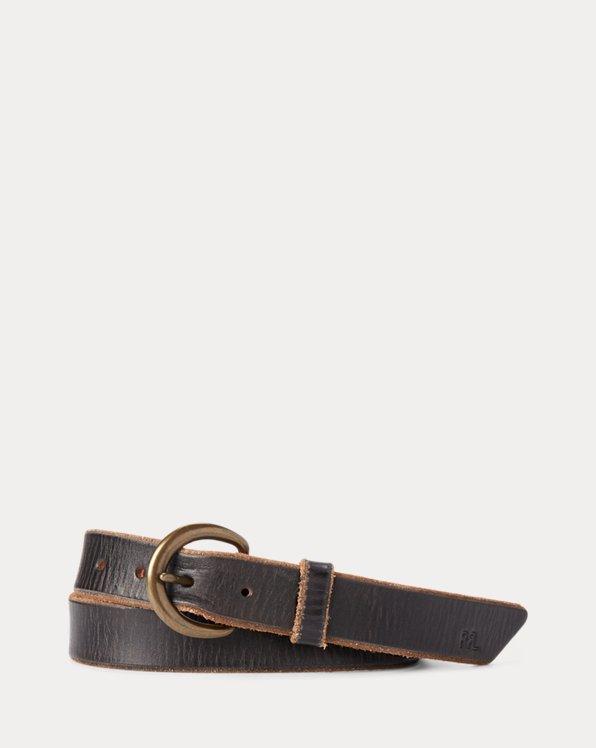 Terrance Tumbled Leather Belt
