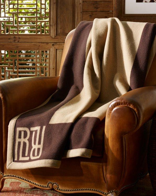 Montclair Wool Throw Blanket
