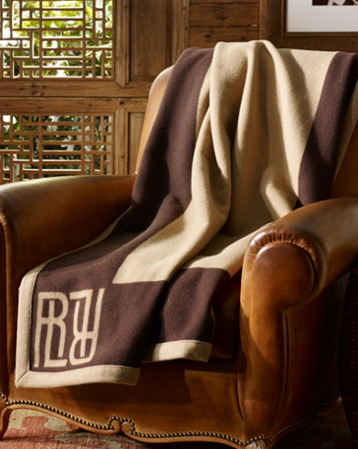 Montclair Wool Throw Blanket
