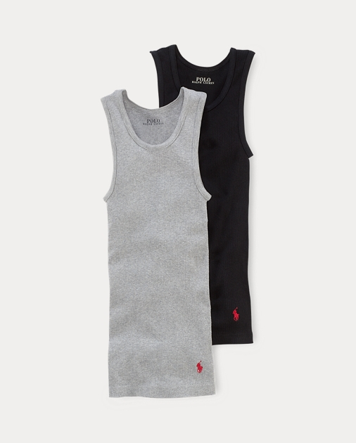 Solid Classic Tank 2 Pack by Ralph Lauren